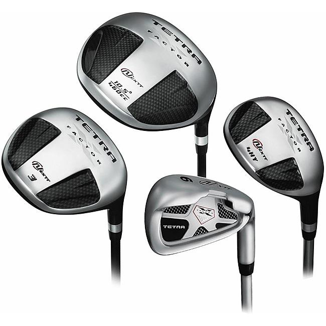 Nextt Men's Tetra X Factor 10-piece Golf Set