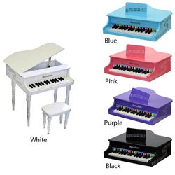 Children's New Baby Grand Piano with Bench