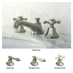 Metropolitan Satin Nickel Widespread Bathroom Faucet