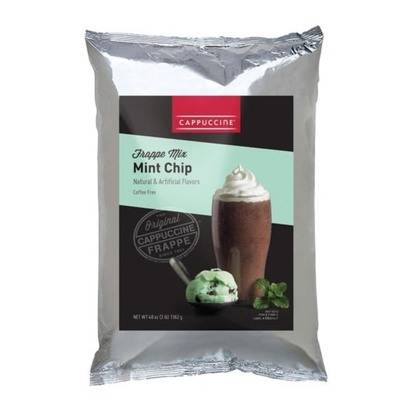 Cappuccine 3-pound Mint Chip Cookies & Cream (Pack of 5)