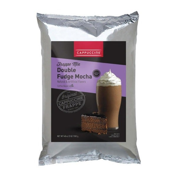 Cappuccine 3-pound Double Fudge Mocha (Pack of 5)