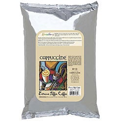 Cappuccine 3-pound Extreme Toffee Coffee (Pack of 5)