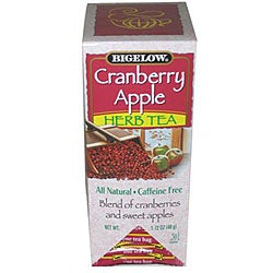R.C. Bigelow CS 28-piece Caffeine-free Cranberry Apple Herbal Tea (Pack of 6)