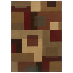 Beige Geometric Rug (8'2 x 10')