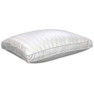 Damask Stripe 350 Thread Count Softie Around Density Pillow