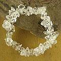 Stretch 'Crystalline Muse' Quartz Bracelet (India)