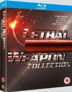 LETHAL WEAPON 1-4 (COLLECTION) (BLU-RAY)