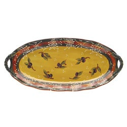Certified International French Olives Fish Platter