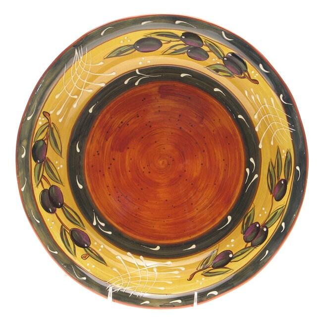Certified International French Olives Pasta/ Serving Bowl