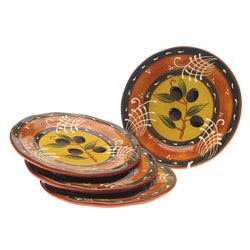 Certified International French Olives Salad Plate (Set of 4)