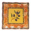 Certified International French Olives Square Platter