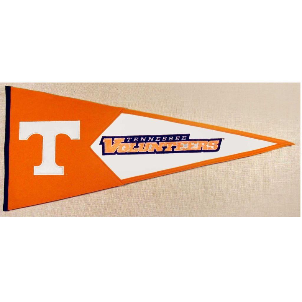 Tennessee Volunteers Classic Wool Pennant