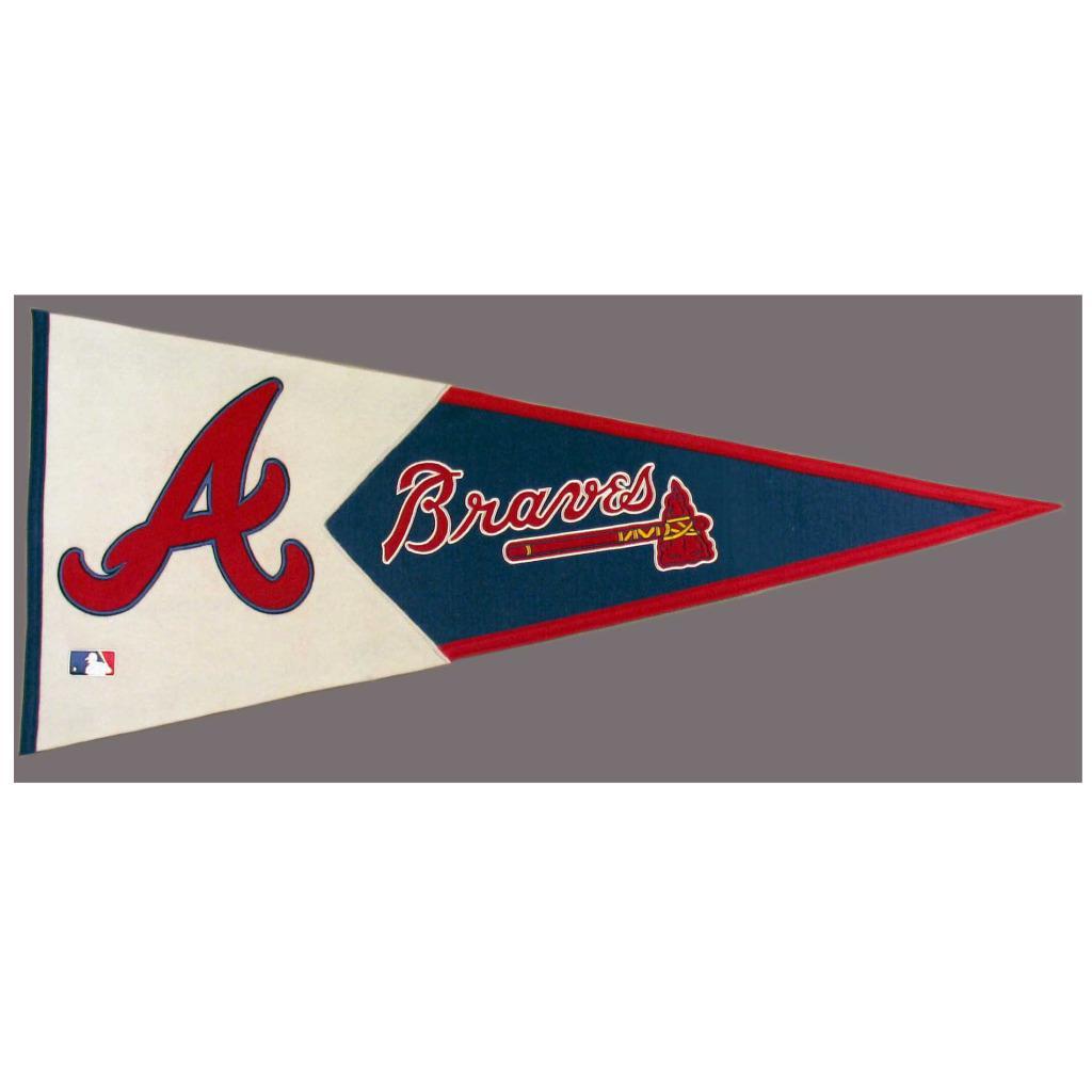 Atlanta Braves Classic Wool Pennant