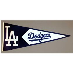 Los Angeles Dodgers Classic Wool Pennant