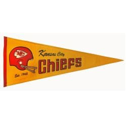 Kansas City Chiefs Throwback Wool Pennant