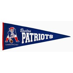 New England Patriots Throwback Wool Pennant