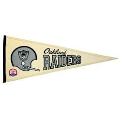 Oakland Raiders AFL Throwback Wool Pennant