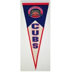 Chicago Cubs Throwback Wool Pennant