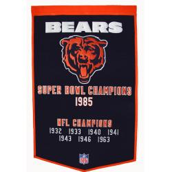 Chicago Bears NFL Dynasty Banner