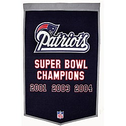New England Patriots NFL Dynasty Banner
