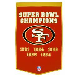 San Francisco 49ers NFL Dynasty Banner