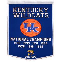 Kentucky Wildcats NCAA Basketball Dynasty Banner
