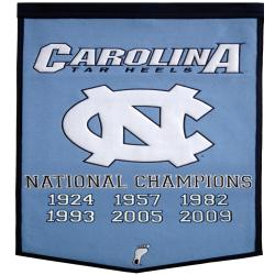 North Carolina NCAA Basketball Dynasty Banner