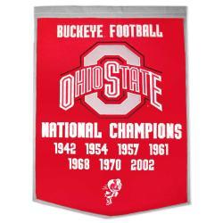 Ohio State Buckeyes NCAA Football Dynasty Banner