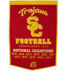 USC Trojans NCAA Football Dynasty Banner