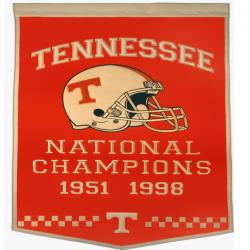 Tennessee Volunteers NCAA Football Dynasty Banner