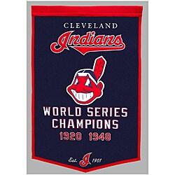 Cleveland Indians MLB Dynasty Banner