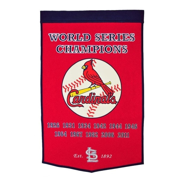 St. Louis Cardinals MLB Dynasty Banner 7534255