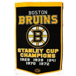 Boston Bruins NHL Dynasty Banner