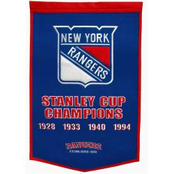 New York Rangers NHL Dynasty Banner