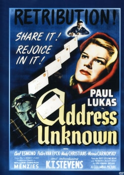 Address Unknown (DVD)
