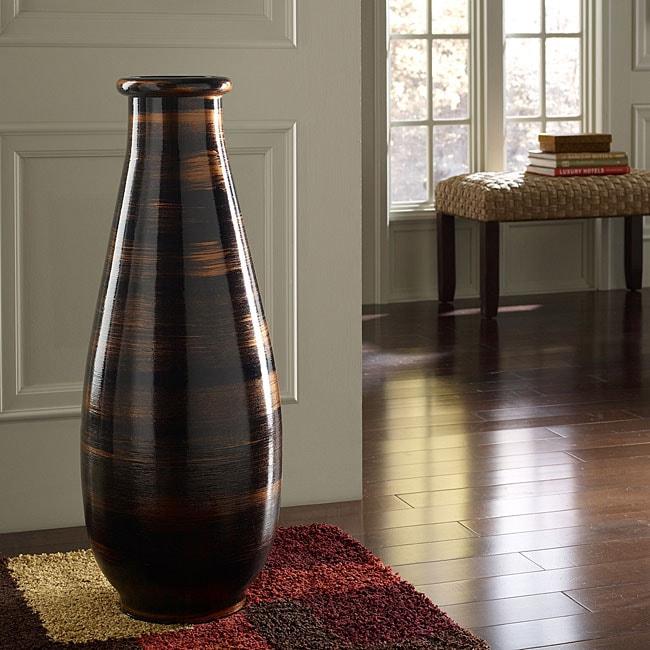 Copperworks large decorative vase indonesia 13322806 overstock