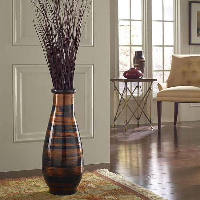 Copperworks Small Floor Vase (Indonesia)