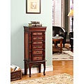 Mandalay Cherry 6-drawer Jewelry Armoire
