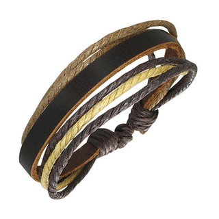 Genuine Leather Thai Bracelet