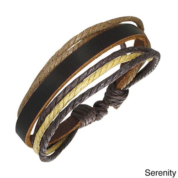 Genuine Leather Thai Bracelet