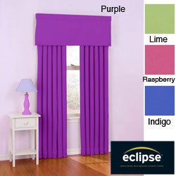Eclipse 63-inch Twill Curtain Panel Pair