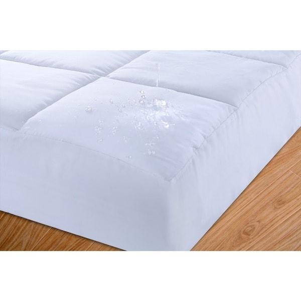 Nanofibre Cotton Down Alternative Mattress Pad
