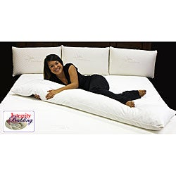 Double Extra-long 72-inch Memory Foam Noodle Body Pillow