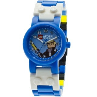 LEGO Kids' 9002892 Star Wars Luke Skywalker Link Watch with Minifigure