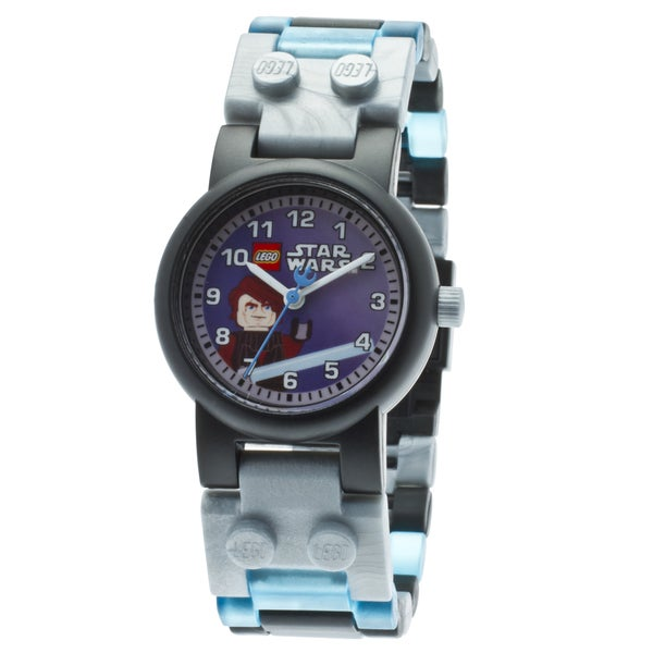 LEGO Clone Wars Anakin Kid's Minifigure Interchangeable Links Watch
