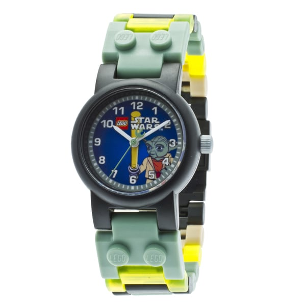 LEGO Clone Wars Yoda Kid's Minifigure Interchangeable Links Watch