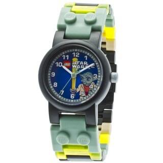 LEGO Clone Wars Yoda Kid's Minifigure Interchangeable Links Watch