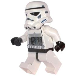 LEGO Star Wars Storm Trooper Figurine Plastic Digital Alarm-clock