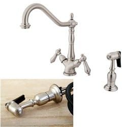 Heritage Satin Nickel Kitchen Faucet