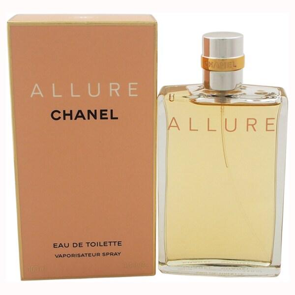 Chanel Allure Women's 3.4-ounce Eau de Toilette Spray